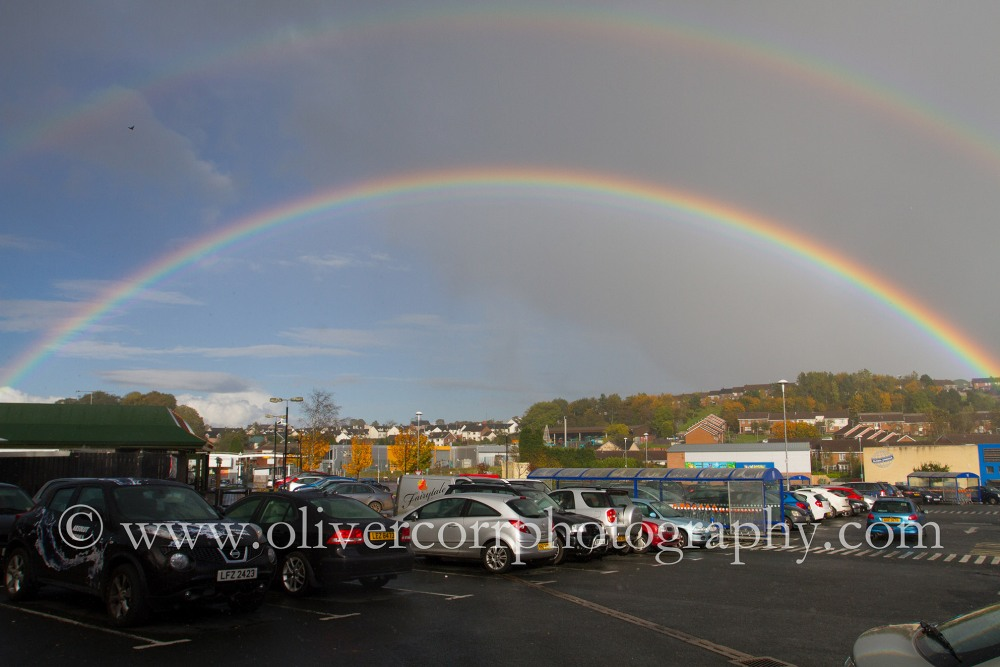 Day 285 Dungannon Rainbow (Photo A Day 2012)